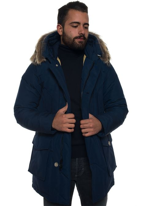Giaccone con cappuccio Woolrich | 20000057 | WOCPS1674-CN01DRY