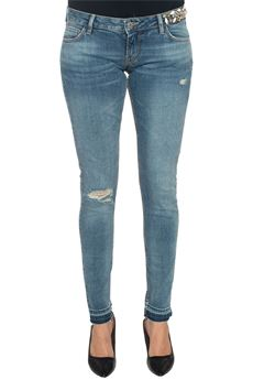 Jeans 5 tasche con rotture Guess | 24 | W72043-D2GK1GWST