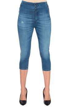 Jeans denim con rotture Guess | 24 | W72A57-D2G40PPBL