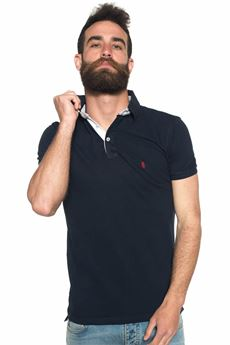 Polo in cotone piquet Refrigue | 2 | POLO-R50007PMS1MNIGHT BLUE