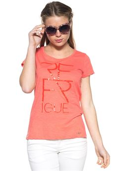 T-shirt girocollo Refrigue | 8 | T-SHIRT-R45009YS1WCORAL