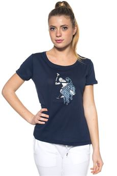 T-shirt girocollo mezza manica US Polo Assn | 8 | 38378-51476577