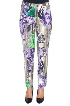 Pantalone stretch a sigaretta Versace Collection | 9 | G34769-G603336G7306
